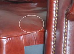 真皮旧沙发翻新换皮对比图前