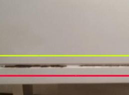 板式复合板家具爆边裂缝修补对比图前